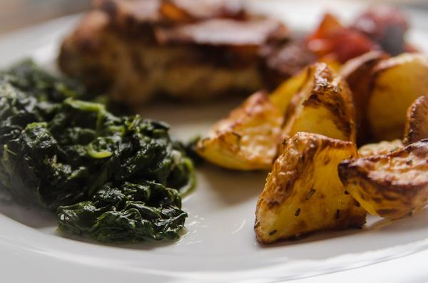 H hnchen mit spinat was soll ich nur kochen for Was soll ich kochen