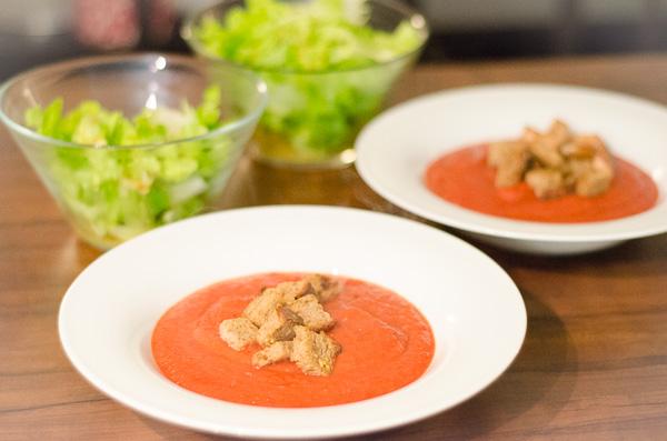 Süßkartoffel-Rote-Beete-Suppe